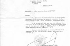 La lettera del sindaco di Dakar indirizzata a Brunilde.